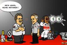 Formel 1 - Wechsel um jeden Preis: Comic: Haug macht Hamilton sch�ne Augen