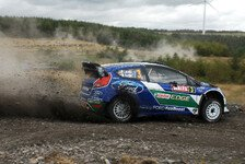 WRC - Ford in Wales vorneweg