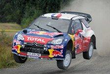 WRC - Keine Details zu Loeb: Citroen in Wales nicht unter Titeldruck