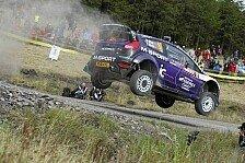 WRC - Sprungbrett nach oben?: Matthew Wilson startet 2013 in der WRC 2