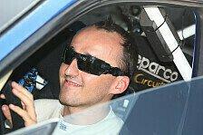 Formel 1 - Gewinnen ist eine gute Medizin: Kubica will Rundstrecke und Rallye