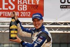 WRC - Tolle Atmosph�re sp�rbar: Latvala: Vorbereitung im Formel-Auto