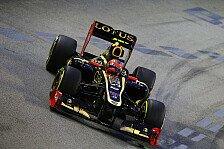 Formel 1 - Lotus versteht den Pace-Rückfall