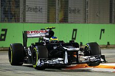 Formel 1 - Bis zur Mauer ein guter Job: Gillan nimmt Senna aus der Schusslinie