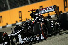 Formel 1 - Podestplatz im Visier: Maldonados Startplatz ein Schub f�r Williams