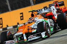 Formel 1 - Der Rhythmus ist wichtig: Nico H�lkenberg