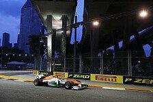 Formel 1 - Letzte Hoffnung: Weicher Reifen: Force India Vorschau: Singapur GP