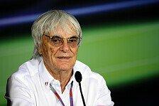 Formel 1 - Gemischte Reaktionen bei Teamchefs: Ecclestone plant 250-Millionen-Budgetgrenze