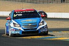 WTCC - D'Aste sichert sich Pole f�r Rennen 2: Alain Menu holt Chevrolet-Heimpole