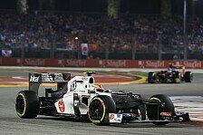 Formel 1 - Gute Zweik�mpfe aber zu wenig Speed: Sauber: Punktelos in Singapur