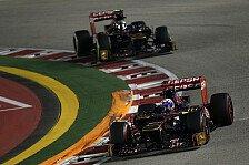 Formel 1 - Singapur-Resultat als Trumpfkarte?: Ricciardo: Punkte sichern Verbleib im Team