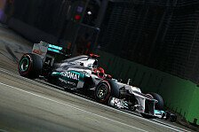 Formel 1 - Folgenschwerer Crash : Strafe: Schumacher in Suzuka 10 Pl�tze zur�ck
