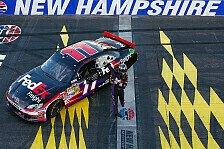 NASCAR - 100. Gibbs-Sieg durch Hamlins One-Man-Show: Henny Hamlin gewinnt �berlegen