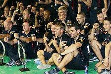 Formel 1 - Nichts mitbekommen: Horner: Mussten erst einmal Unterw�sche wechseln