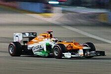 Formel 1 - Gutes Ergebnis auf der Lieblingsstrecke: Paul di Resta