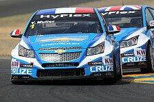 WTCC - Dreikampf um den Titel: Freie Fahrt f�r Chevrolet-Piloten