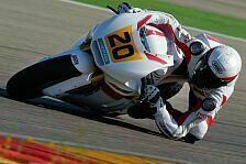 Moto2 - War noch nie so gl�cklich: GP Team Switzerland reist mit Raffin nach Aragon