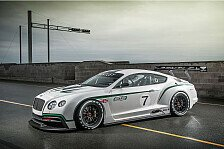 Mehr Motorsport - R�ckkehr in die Sportwagenszene: Bentley baut neuen GT3-Boliden