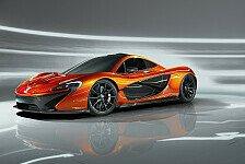 Auto - Dampf unter der Briten-Haube: McLarens Supersportler P1 im Detail