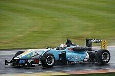 F3 Euro Series - Zeittraining unter schwierigen Bedingungen: Daniel Juncadella Schnellster beim Heimspiel