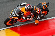 Moto2 - Marquez bremste Problem mit Hinterbremse