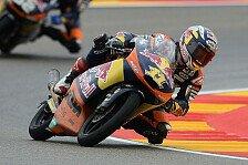 Moto3 - Vinales trotz Sturz erster Verfolger: Cortese Moto3-Freitagsschnellster in Motegi