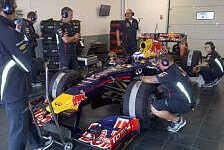 Formel 1 - Demofahrt im RB6: Alain Prost zur�ck im F1-Cockpit