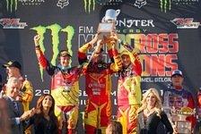 ADAC MX Masters - Trio Roczen/Schiffer/Nagl ADAC Motorsportler des Jahres: Gro�e Ehre f�r Motocross-Team Deutschland