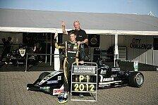Formel 3 Cup - Routinierter Champion: Jimmy Eriksson