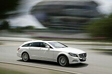 Auto - Faszination ist die K�r: Avantgardistisch: Mercedes CLS Shooting Brake