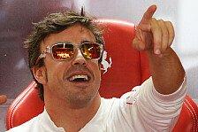 Formel 1 - Planm��ig Punkte verloren: Alonso: Ich gebe niemals auf