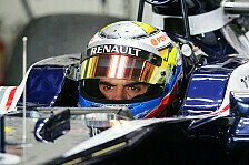 Formel 1 - Sie sind sehr gl�cklich mit mir: Maldonado: Bin die Nummer eins bei Williams