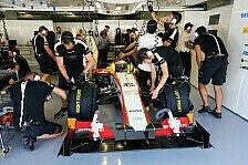 Formel 1 - Unterboden verlangte viel Aufmerksamkeit: HRT hatte zu viel Untersteuern
