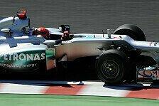 Formel 1 - Auf den Geraden zu langsam: Schumacher: Sch�ner Kampf mit Ricciardo