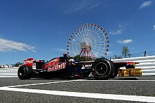 Formel 1 - Im Rennen besser als im Qualifying: Toro Rosso muss bessere Balance finden