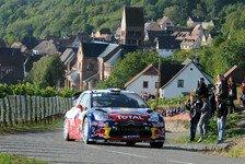 WRC - Latvala verliert an Boden: Loeb baut Frankreich-F�hrung aus