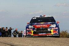 WRC - Unfall sorgt f�r Abbruch: Loeb baut Frankreich-F�hrung aus