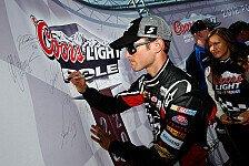 NASCAR - Brad Keselowski startet von Rang 22: Erste Superspeedway-Pole f�r Kasey Kahne