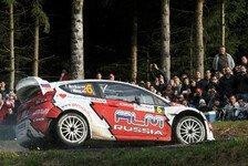 WRC - Botanik im Weg: Video - Novikov touchiert einen Baum
