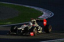 Formel 1 - Hatten erwartet besser zu sein: Lotus hinkt im Entwicklungsrennen hinterher