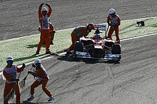 Formel 1 - Bilder: Japan GP - Alonso-Startunfall