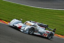 WEC - Neue Aerodynamik-Bauteile: Audi: Tests in Spa-Francorchamps