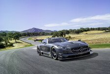 Auto - Exklusives Sammlerst�ck : SLS AMG GT3 45th Anniversary Sonderedition