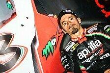 MotoGP - Zweiter Test 2014: Biaggi erneut auf MotoGP-Aprilia