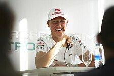 Formel 1 - Mit dem Blindenstock zur R�cktrittsverk�ndung: Schumacher wollte Titel im zweiten Comebackjahr