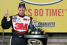 NASCAR - Dale Earnhardt Junior kann nicht starten: Greg Biffle holt Pole mit Streckenrekord