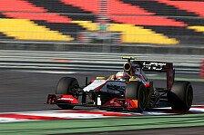 Formel 1 - Speed f�r ein besseres Team bewiesen: Karthikeyan: HRT f�r 2013 die Priorit�t