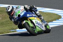 MotoGP - Silva mit wertloser Bestzeit: Regen zerst�rt 2. MotoGP-Training