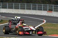 Formel 1 - Es wurde zu gef�hrlich: Defektes Gaspedal bei Pedro de la Rosa