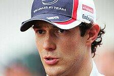 Formel 1 - Leidiges Thema Frontfl�gel: Bruno Senna
